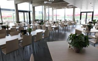 De zaal van Taverne Zilverbos
