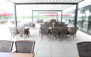 het terras van Taverne Zilverbos