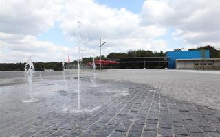 Waterpartij in actie